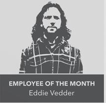 Eddie Vedder - Employee of the Month
